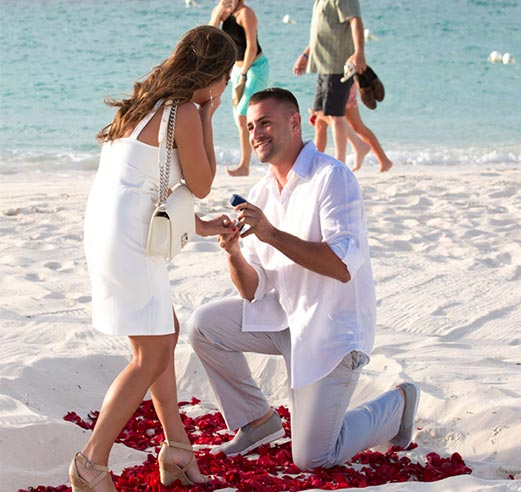secret proposals, turks and caicos photographer