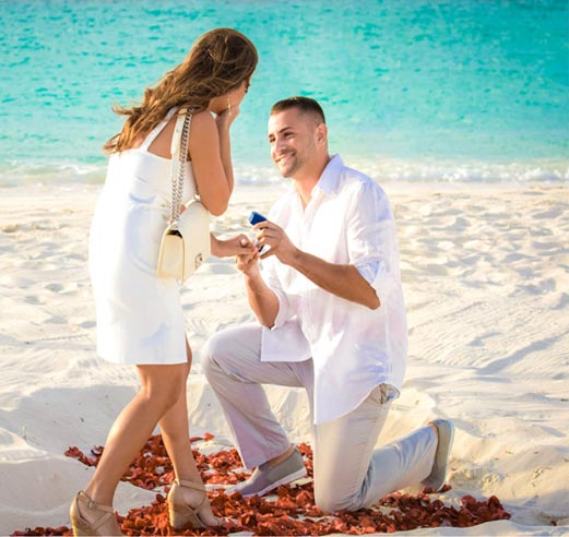 secret proposals - Turks and Caicos photographer