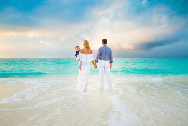 Family Portrait-Turks and Caicos Photographers