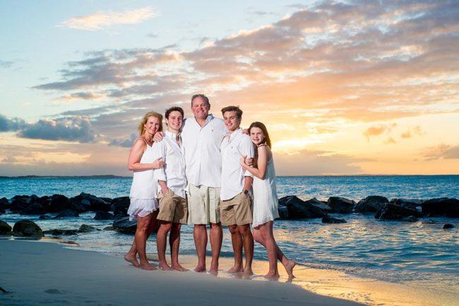 Turks-and-Caicos-family-photography-beach-sunset